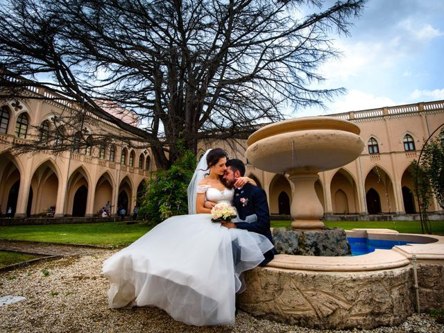 Il matrimonio di Stefano e Veronica a Grottaferrata, Roma 17