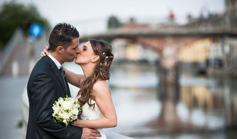Il matrimonio di Elisa e Fabrizio a Gaggiano, Milano