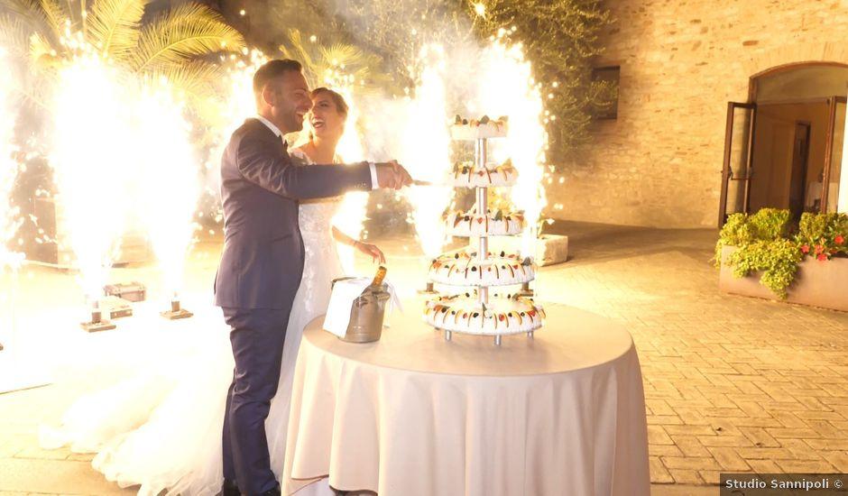 Il matrimonio di Daniele e Sara a Gubbio, Perugia