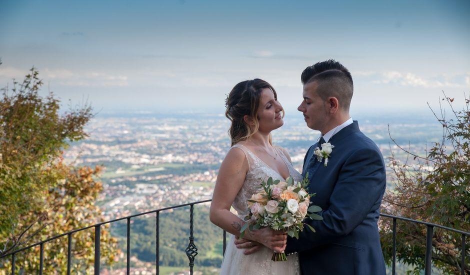 Il matrimonio di Andrea  e Eleonora  a Roncola, Bergamo