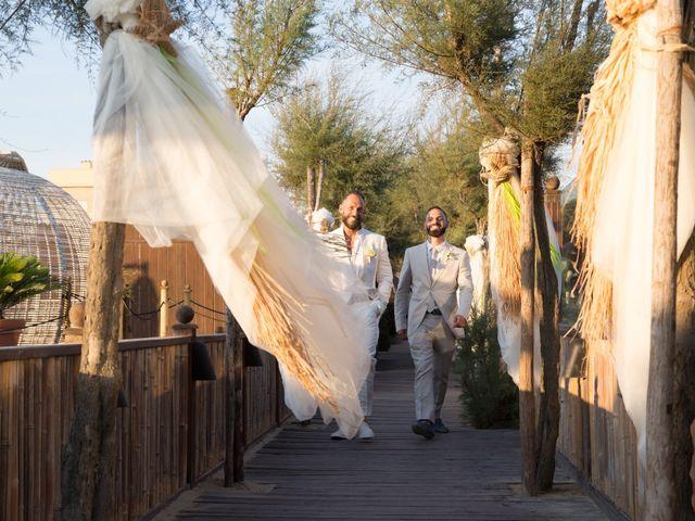 Il matrimonio di Antonio e Chiara a Fiumicino, Roma 25