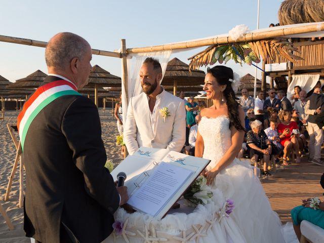 Il matrimonio di Antonio e Chiara a Fiumicino, Roma 32