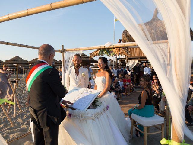 Il matrimonio di Antonio e Chiara a Fiumicino, Roma 33