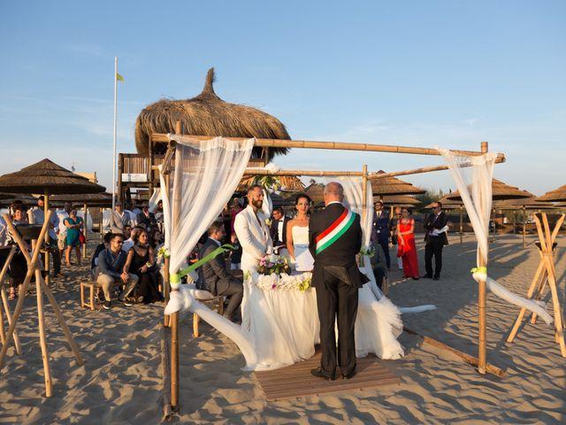 Il matrimonio di Antonio e Chiara a Fiumicino, Roma 36