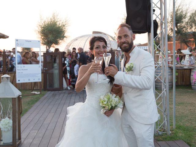Il matrimonio di Antonio e Chiara a Fiumicino, Roma 48