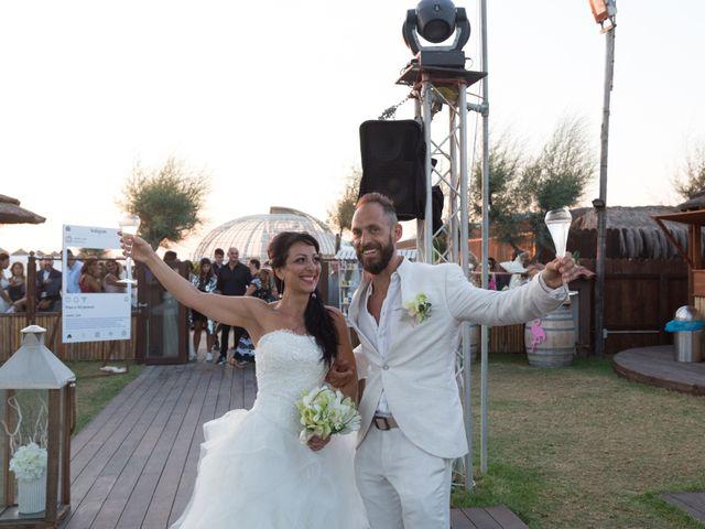 Il matrimonio di Antonio e Chiara a Fiumicino, Roma 49
