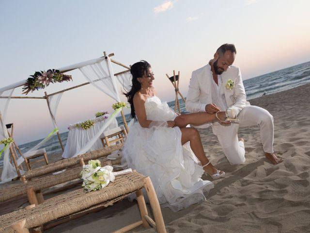 Il matrimonio di Antonio e Chiara a Fiumicino, Roma 56