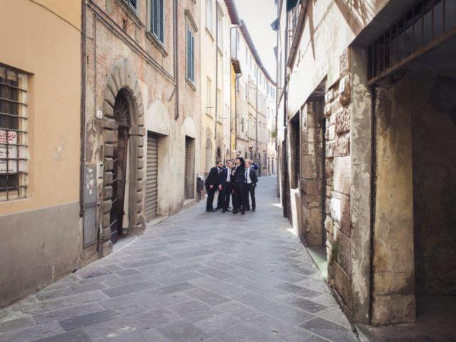 Il matrimonio di Massimiliano e Giulia a Lucca, Lucca 22