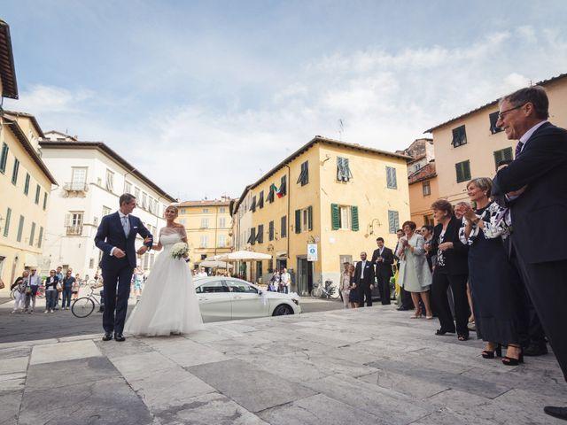 Il matrimonio di Massimiliano e Giulia a Lucca, Lucca 28
