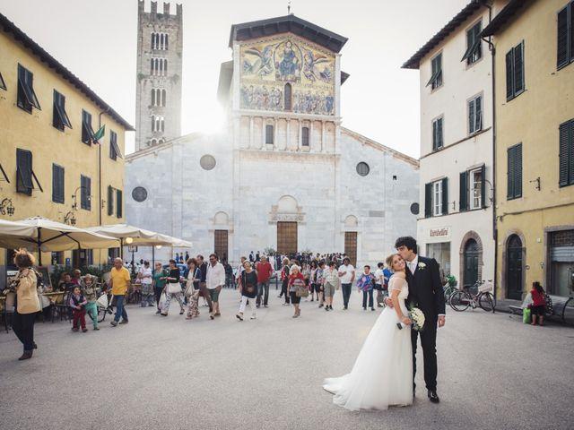 Il matrimonio di Massimiliano e Giulia a Lucca, Lucca 39