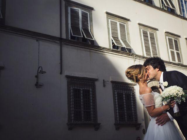 Il matrimonio di Massimiliano e Giulia a Lucca, Lucca 41