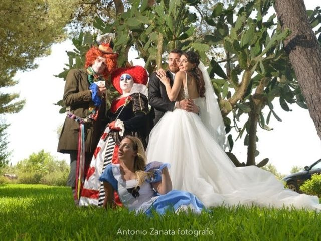 Il matrimonio di Luciano e Stella a Villa Castelli, Brindisi 17