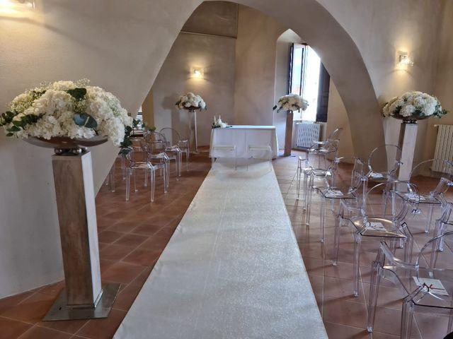 Il matrimonio di linda e Angelo a Lapio, Avellino 10