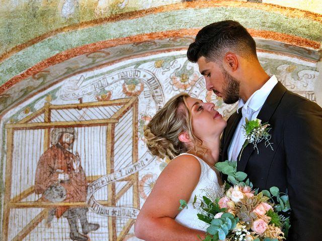 Il matrimonio di Giulia e Amry a Calliano, Trento 1