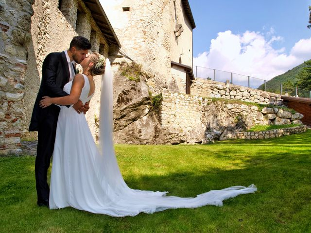 Il matrimonio di Giulia e Amry a Calliano, Trento 2