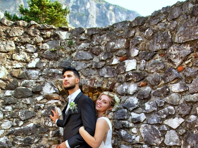 Il matrimonio di Giulia e Amry a Calliano, Trento 6