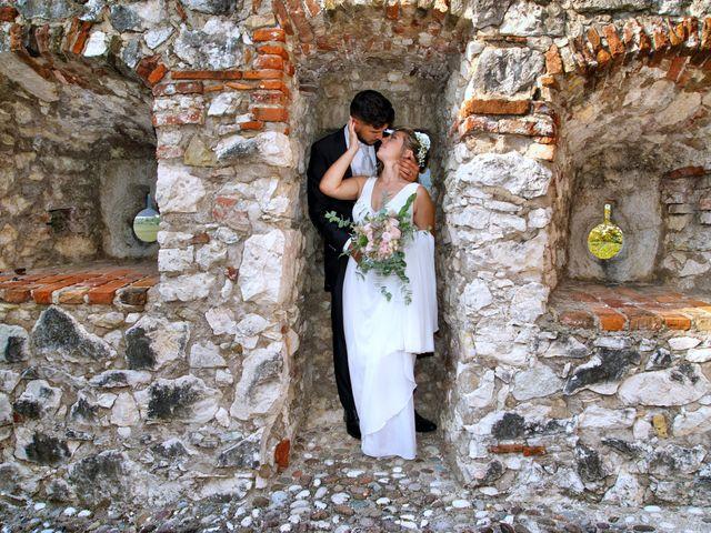 Il matrimonio di Giulia e Amry a Calliano, Trento 17