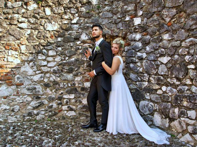 Il matrimonio di Giulia e Amry a Calliano, Trento 21