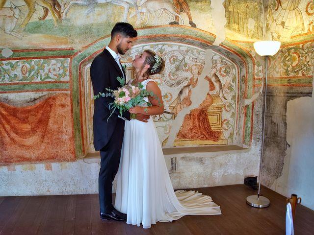 Il matrimonio di Giulia e Amry a Calliano, Trento 26