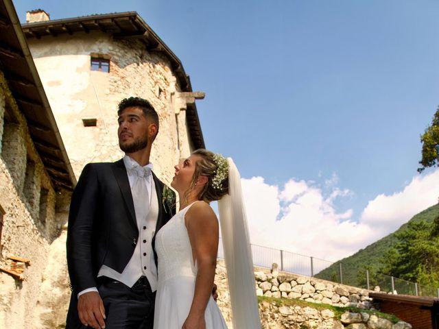 Il matrimonio di Giulia e Amry a Calliano, Trento 39