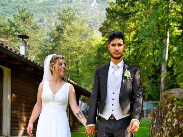 Il matrimonio di Giulia e Amry a Calliano, Trento 42