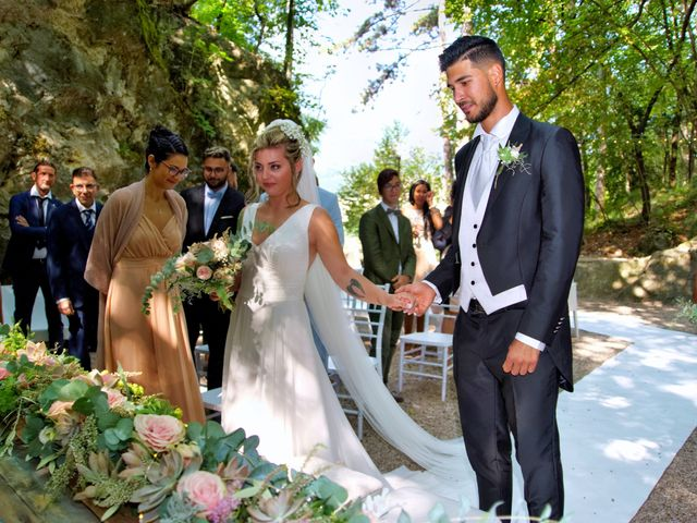 Il matrimonio di Giulia e Amry a Calliano, Trento 52