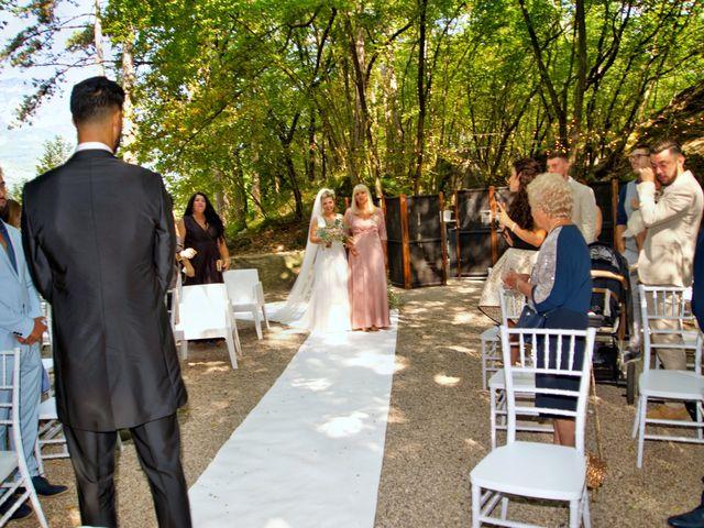 Il matrimonio di Giulia e Amry a Calliano, Trento 53