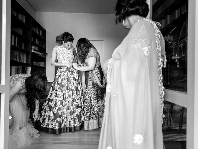Il matrimonio di Jaspal e Reena a Cernobbio, Como 26