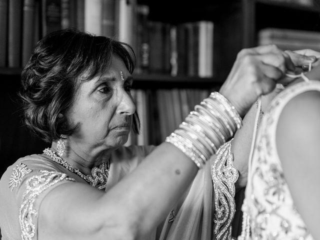 Il matrimonio di Jaspal e Reena a Cernobbio, Como 28