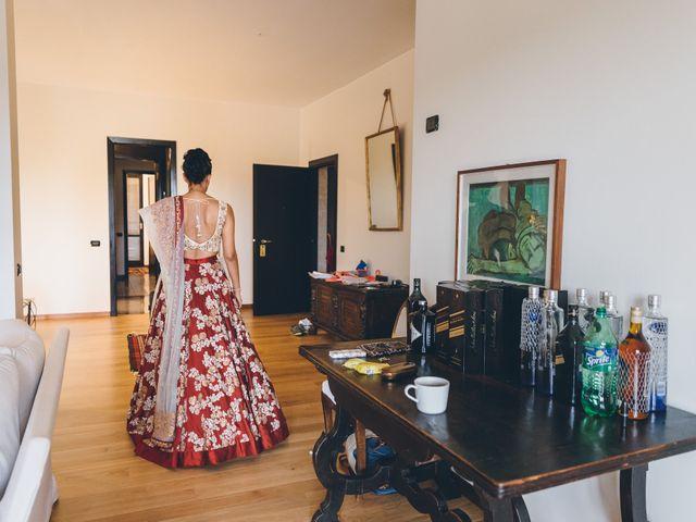 Il matrimonio di Jaspal e Reena a Cernobbio, Como 29