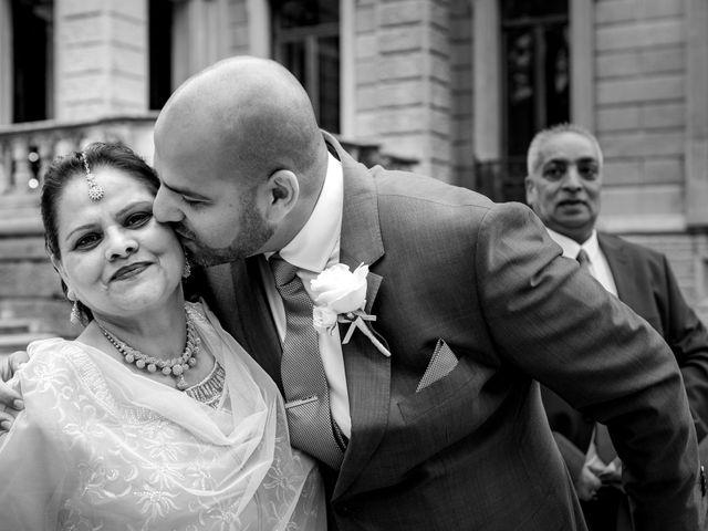 Il matrimonio di Jaspal e Reena a Cernobbio, Como 32