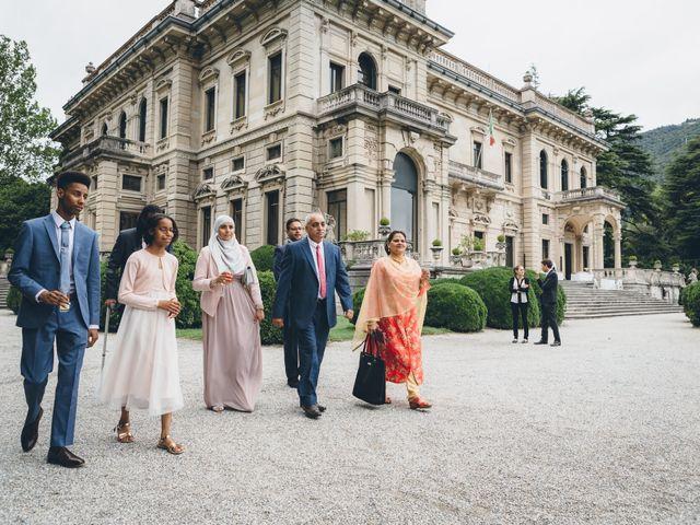 Il matrimonio di Jaspal e Reena a Cernobbio, Como 33