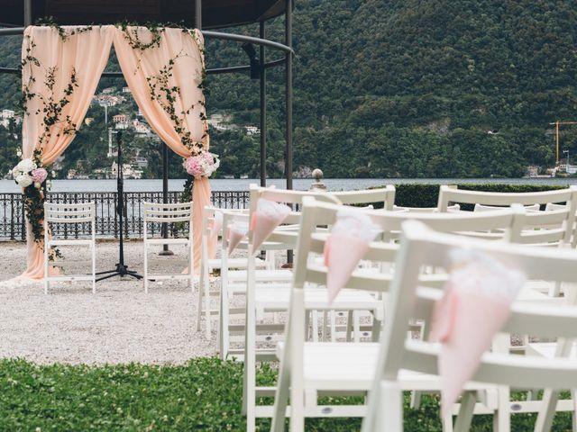 Il matrimonio di Jaspal e Reena a Cernobbio, Como 35