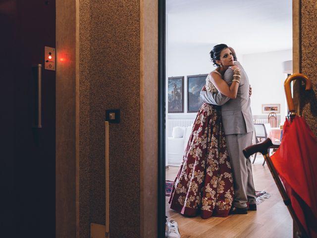 Il matrimonio di Jaspal e Reena a Cernobbio, Como 39