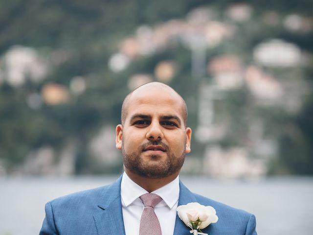 Il matrimonio di Jaspal e Reena a Cernobbio, Como 40