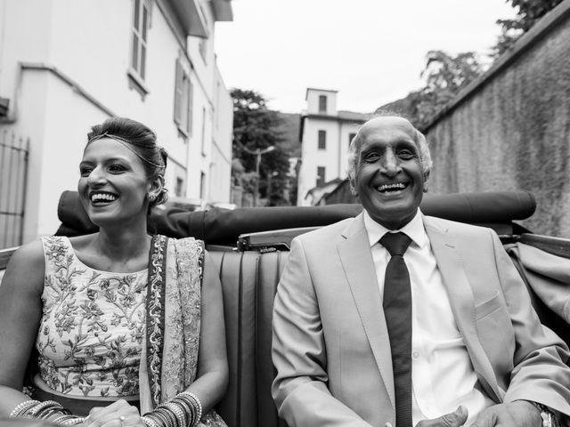 Il matrimonio di Jaspal e Reena a Cernobbio, Como 41