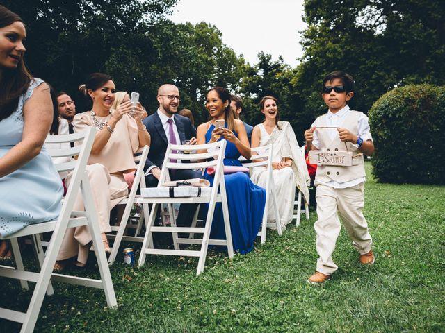 Il matrimonio di Jaspal e Reena a Cernobbio, Como 43