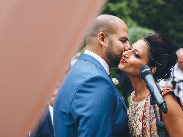 Il matrimonio di Jaspal e Reena a Cernobbio, Como 46