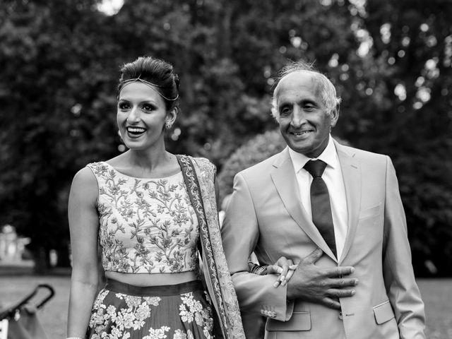 Il matrimonio di Jaspal e Reena a Cernobbio, Como 47