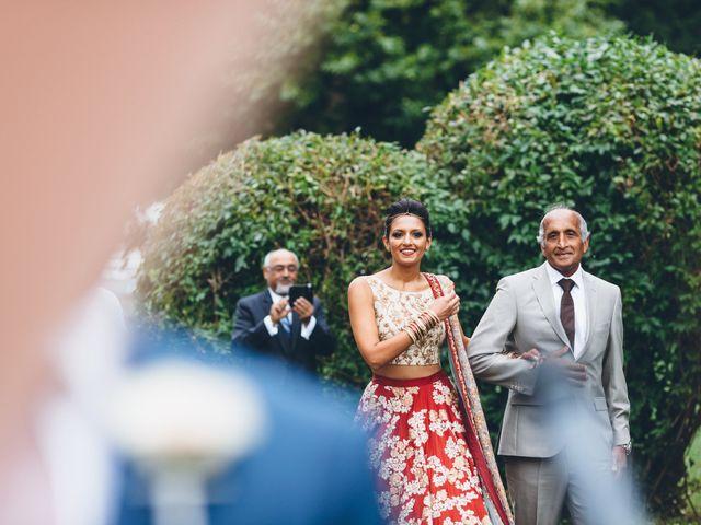 Il matrimonio di Jaspal e Reena a Cernobbio, Como 48