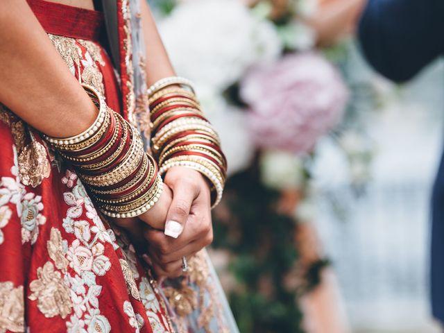 Il matrimonio di Jaspal e Reena a Cernobbio, Como 53