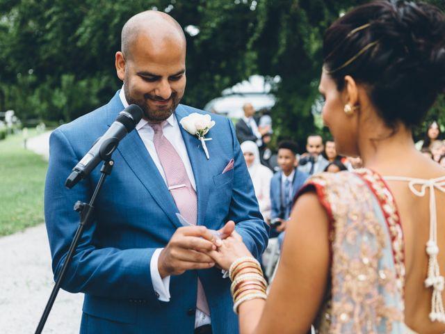 Il matrimonio di Jaspal e Reena a Cernobbio, Como 54