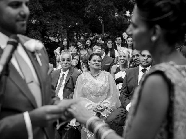 Il matrimonio di Jaspal e Reena a Cernobbio, Como 55