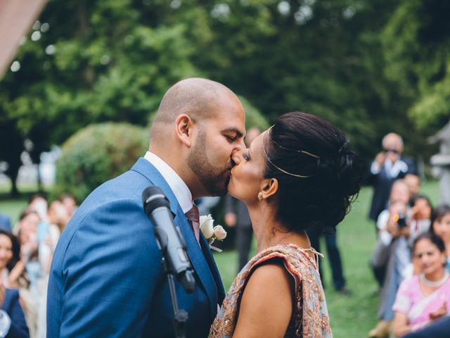 Il matrimonio di Jaspal e Reena a Cernobbio, Como 57