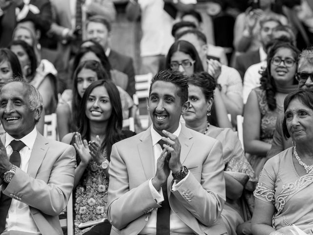 Il matrimonio di Jaspal e Reena a Cernobbio, Como 58