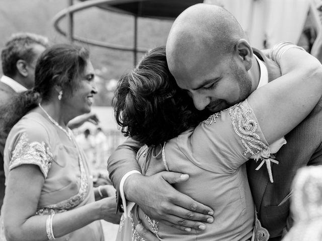 Il matrimonio di Jaspal e Reena a Cernobbio, Como 59