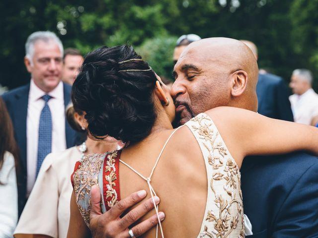 Il matrimonio di Jaspal e Reena a Cernobbio, Como 60