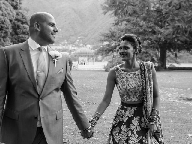 Il matrimonio di Jaspal e Reena a Cernobbio, Como 65