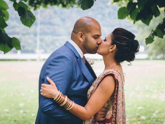 Il matrimonio di Jaspal e Reena a Cernobbio, Como 66