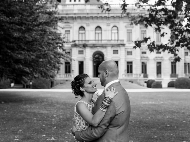 Il matrimonio di Jaspal e Reena a Cernobbio, Como 71